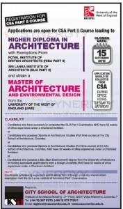 City School of Architecture Colombo – Architecture Courses in Sri Lanka