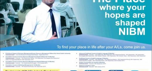 NIBM Sri Lanka – Business Management Degree Courses