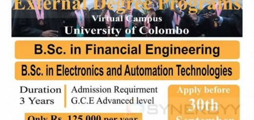 Online External Degree Programme by University of Colombo
