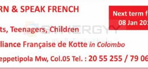 Learn & Speak French at Alliance Francaise de Kotte