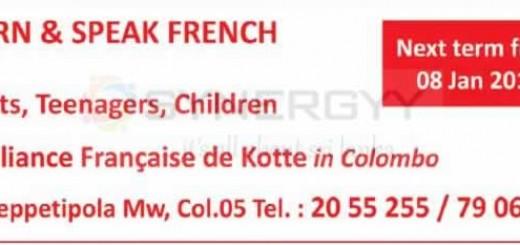 Learn & Speak French at Alliance Francaise de Kotte