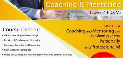 Introductory Certificate in coaching & Mentoring Workshop on 9th June 2016