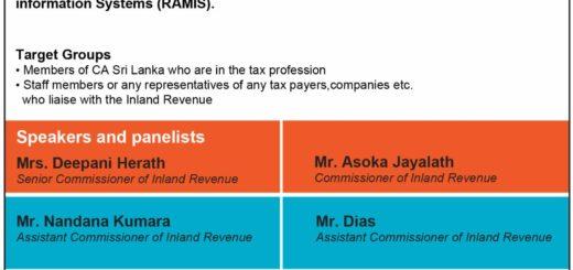 Awareness Workshop on Registration of Tax agents under Revenue Administration Management information Systems (RAMIS)