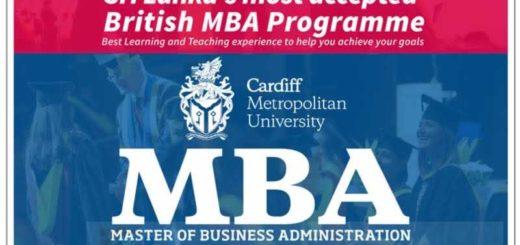 Cardiff Metropolitan University MBA in Sri Lanka by ICBT Campus