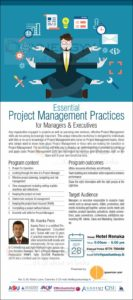 Essential Project Management Practices for Managers & Executives