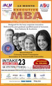asia-e-university 12 month executive mba