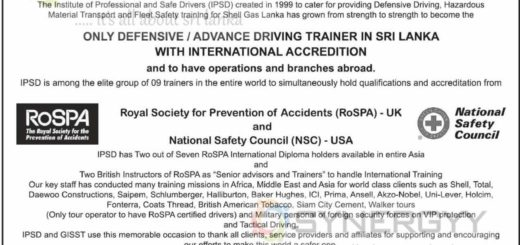Institute of Professional and Safe Drivers – Training Programme