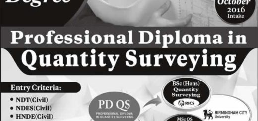 Professional Diploma in Quantity Surveying from ICBT Campus