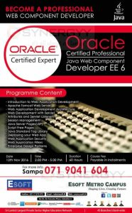 Oracle Certified Professional Course from ESoft