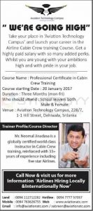 Cabin Crew Courses with Aviation Technology Campus