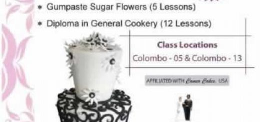 Dushanthi Madanayake Cake Making Courses in Colombo