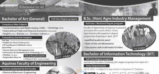 Aquinas College of Higher Studies – Degree Programme