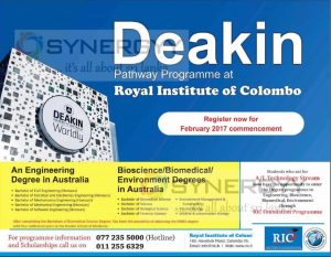 Deakin University Australia – Degree Programme in Sri Lanka with Royal Institute of Colombo