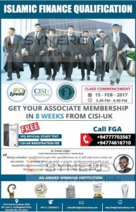 Islamic Finance Qualification by First Global Academy