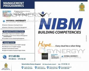 NIBM Management Degree Programme – Applications call now