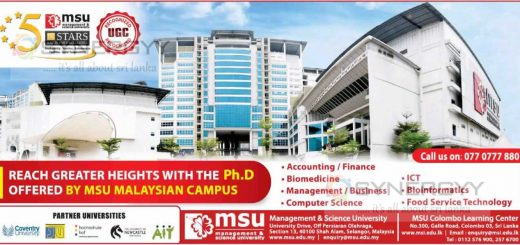 Ph.D Programme by MSU Malaysia