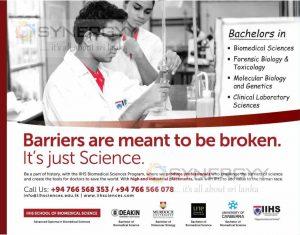 Bachelor's degree in Bio Scheme from IIHS