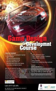 Game Design & Development Course