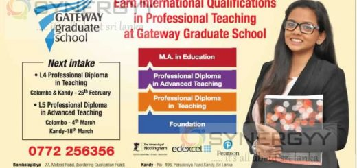 M. A in Education by Gateway Graduate School