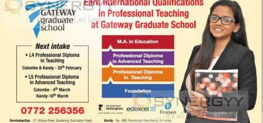 M. A in Education by Gateway Graduate School