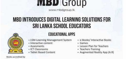 MBD Introduces Digital Learning Solutions for Sri Lanka School Educators