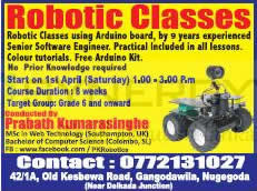 Robotic Classes in Colombo