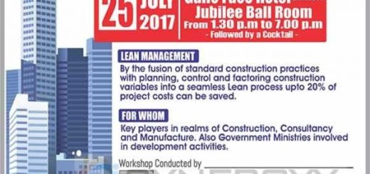 Workshop for Lean Management for Construction Industry