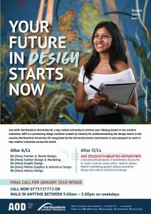 Fashion Designing Degree Programme In Sri Lanka By Academy Of Design Education Synergyy